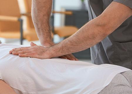 Midback Pain Adjustment Chiropractic Royal Palm Beach FL
