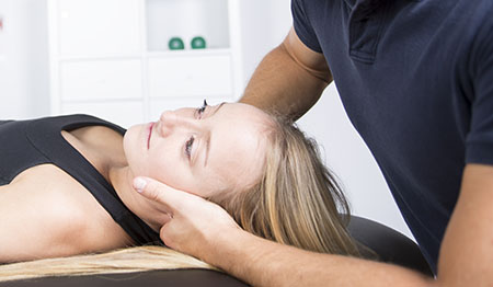 Neck Pain Adjustment Chiropractic Royal Palm Beach FL